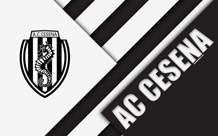 Download wallpapers AC Cesena, 4k, material design, logo ...