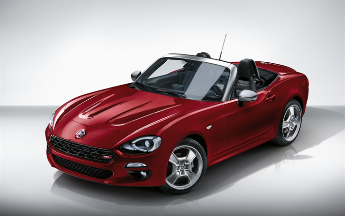 Image result for 2018 fiat 124 spider convertible