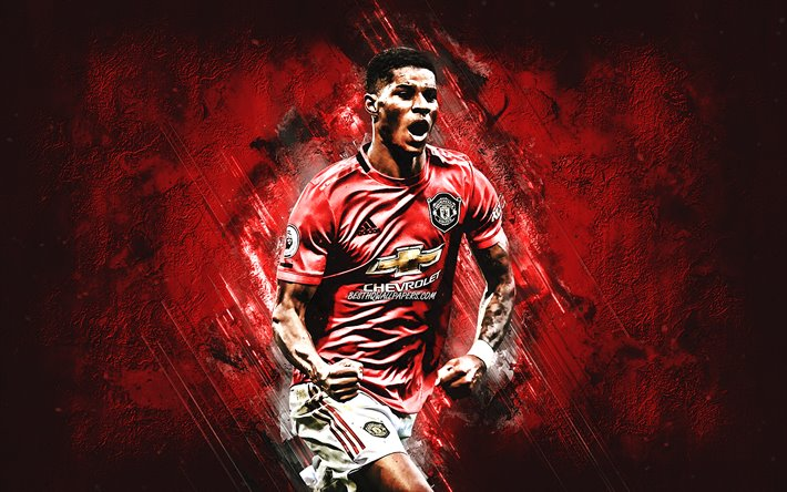 Download wallpapers Marcus Rashford, Manchester United FC ...