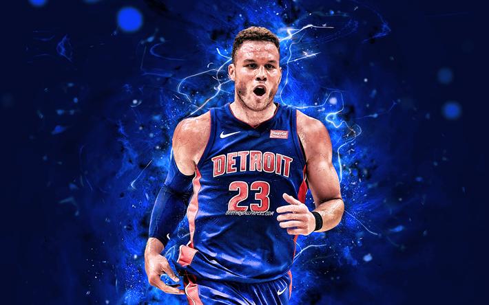 скачать обои Blake Griffin Nba Detroit Pistons Basketball