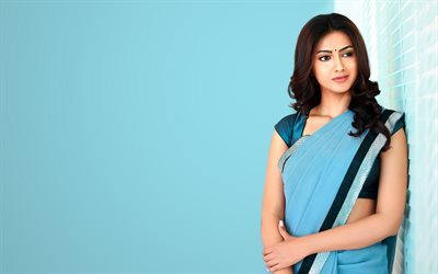 Pallavi Subhash, indian actress, saree, beauty, Bollywood