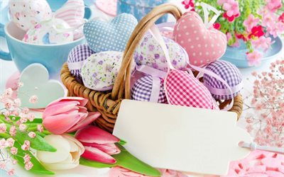 Easter, Easter eggs, spring, Easter decoration