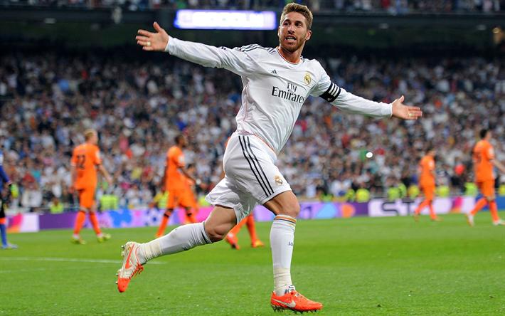 Sergio Ramos Soccer Real Madrid Stadium Soccer Pitches: Download Wallpapers Sergio Ramos, Galacticos, Football