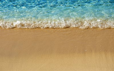 beach, sand, sea, summer, sea breeze, waves, Mediterranean Sea