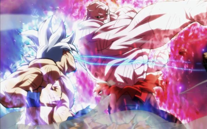 Goku vs Jiren, 4k, battle, Dragon Ball
