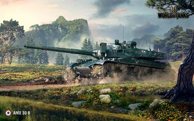 AMX 30 B, World of Tanks, Sei, tanques
