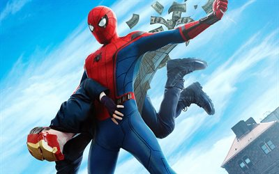 Homem-Aranha Regresso A Casa, 2017, Tom Holland, Peter Parker, A Marvel Comics