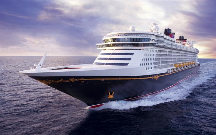 Download Wallpapers 4k Disney Dream Sea Cruise Ship Disney Cruise Line For Desktop Free Pictures For Desktop Free
