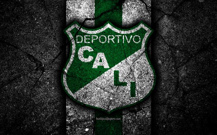 Download Wallpapers Deportivo Cali Fc 4k Logo Colombian