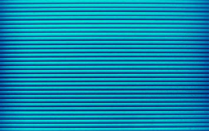 Descargar Fondos De Pantalla Las Líneas Azules, 4k
