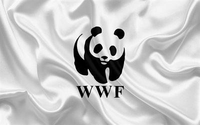 Download Wallpapers Wwf Flag World Wildlife Fund White