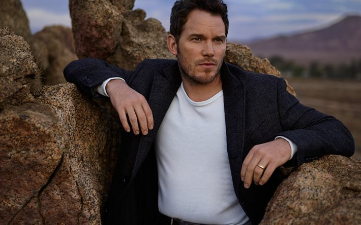 chris pratt, American actor, portrait