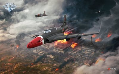 War Thunder, planes, IL-40, World War II