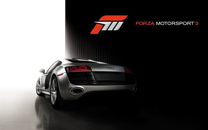 Forza Motorsport 3, Audi RS8, driving games