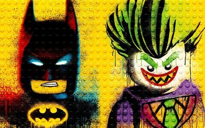 The Lego Batman, 2017, batman, joker