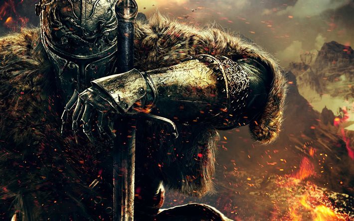 Dark Souls III, RPG, warrior, knight