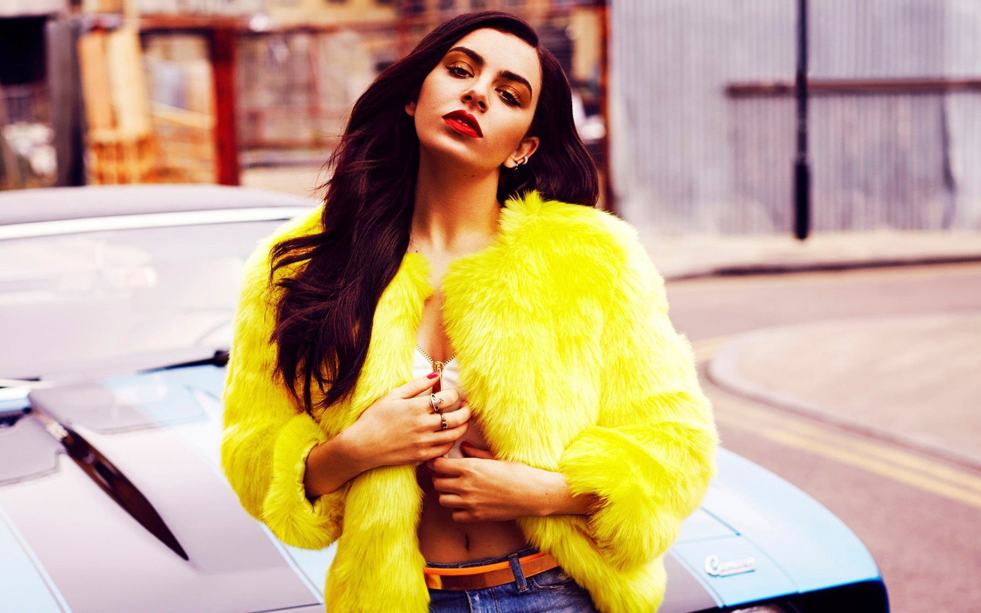 Charli XCX, british singer, Fabulous Magazine, Charlotte Emma Aitchison, photoshoot, beauty, brunette