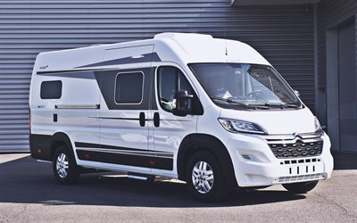 Elios Van 63 GX, campervans, 2020 buses, campers, HDR, travel concepts, house on wheels, Elios