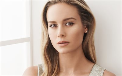 Brie Larson, american actress, portrait, photoshoot, beautiful female eyes, popular actresses