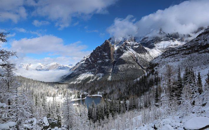 Scarica sfondi inverno montagna lago paesaggio for Immagini inverno sfondi