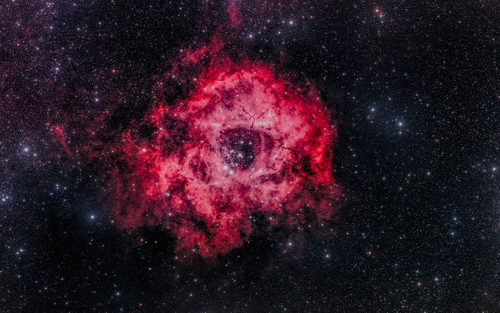 Scarica Sfondi Ngc 2244 4k Nebulosa Galassia Stelle Per Desktop