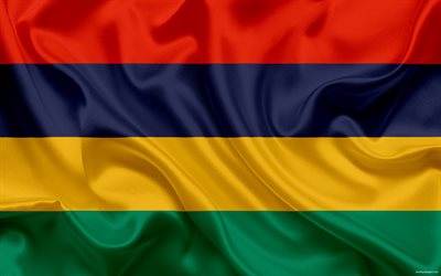 Flag of Mauritius, National flag, Republic of Mauritius, national symbols