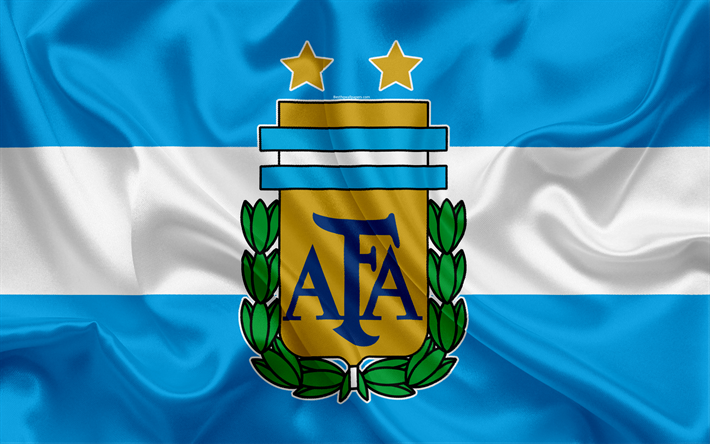 Download Wallpapers Argentina National Football Team Logo Emblem