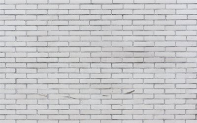 white brick wall, brick texture, white brickwork texture, wall background, brick white background