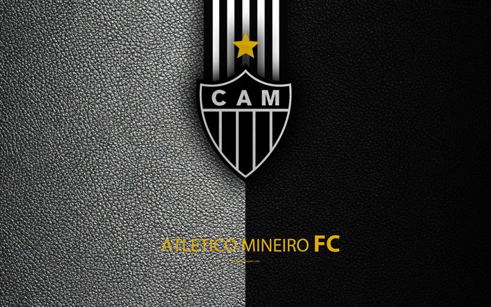 Download Wallpapers Atletico Mineiro FC 4K Brazilian