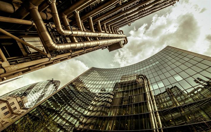 Scarica sfondi londra grattacielo mary axe architettura for Architettura moderna londra