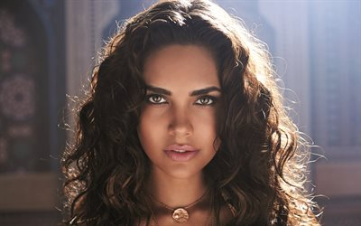 Esha Gupta, 4k, portrait, Bollywood, beauty, indian actress, beautiful woman, brunette