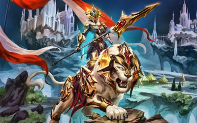 Awilix, 4k, Smite God, 2019 games, Smite, MOBA, Smite characters, Awilix Smite