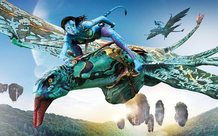 Download wallpapers Avatar 2, 2018, neytiri, seze for desktop free ...