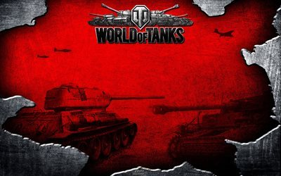 world of tanks -, grunge -, 4k -, wot, tanks