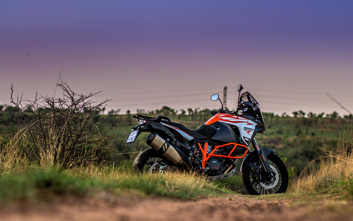 KTM 1290 Super Adventure S 2018 4k Cross Country Motorcycle