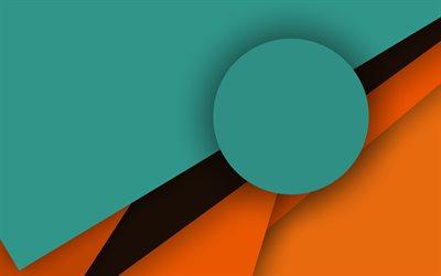 Download wallpapers material design 4k circle lines for Material design wallpaper 4k