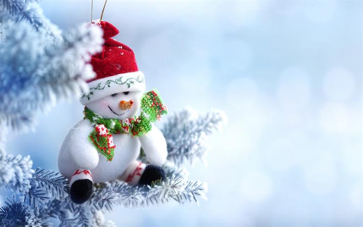 Free Snowman Wallpaper