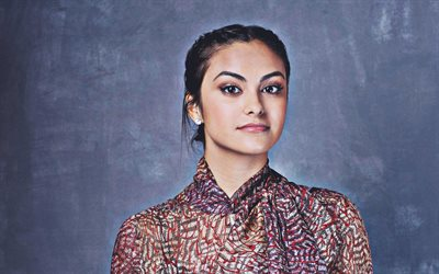 Camila Mendes, portrait, 2018, american actress, Hollywood, Camila Carraro Mendes, beauty, HDR, Camila Mendes photoshoot