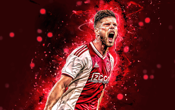 Download wallpapers 4k, Klaas Jan Huntelaar, dutch footballers ...