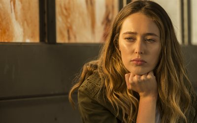 Rädsla The Walking Dead, 2019, Alycia Debnam-Carey, Alicia Clark, affisch, promo, tv-serier