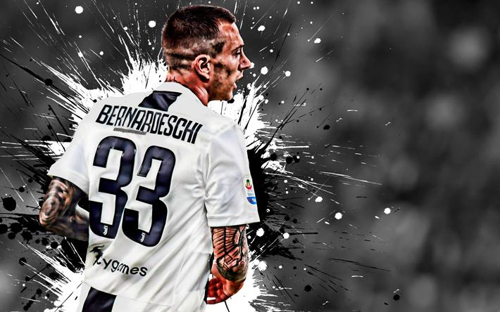 sports shoes b4ff3 aa4e8 Download wallpapers Federico Bernardeschi, Juventus FC ...