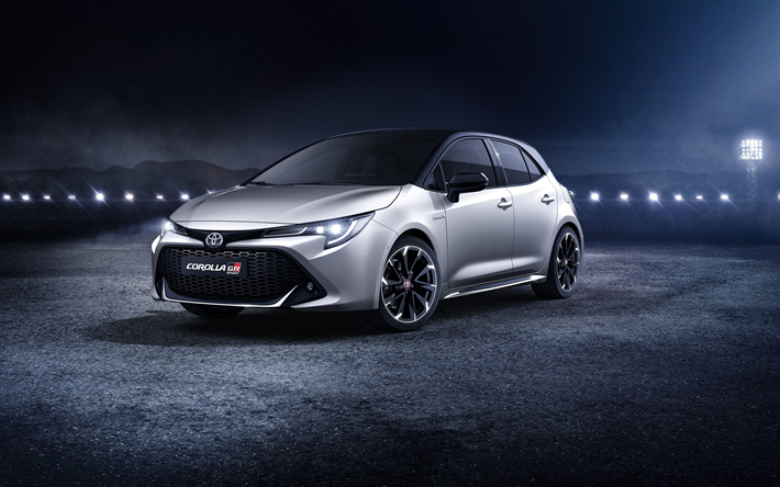 Download Wallpapers Toyota Corolla Gr Sport 4k Tuning 2019 Cars