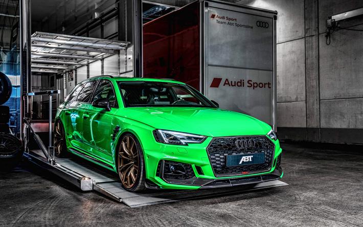 Descargar Fondos De Pantalla Abt La Afinación El Audi Rs4
