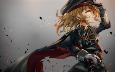 Saga of Tanya the Evil, Tanya Degurechaff, 2017, soldier, manga, Youjo Senki
