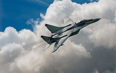 MiG-29, sky, fighters, Fulcrum, Slovak Air Force