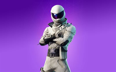4k, Overtaker, fan art, Fortnite Battle Royale, 2019 giochi, Fortnite, cyber warrior, Fortnite 4k