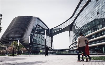 Shanghai, Modern architecture, business centers, skyscrapers, modern buildings, China