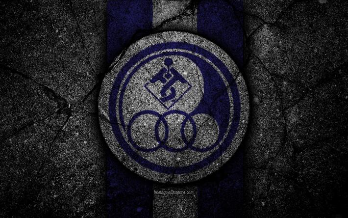Download Wallpapers FC Esteghlal Khuzestan 4k Emblem Persian Gulf