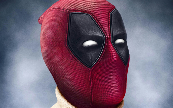 Deadpool 30 Superhéroes: Download Wallpapers Deadpool 2, Mask, 2018 Movie, Close-up