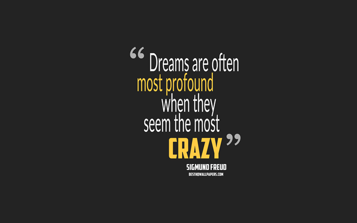 Download Wallpapers Dreams Are Often Most Profound When They